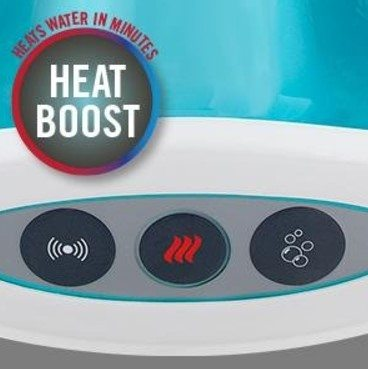 heat feature homedics foot spa