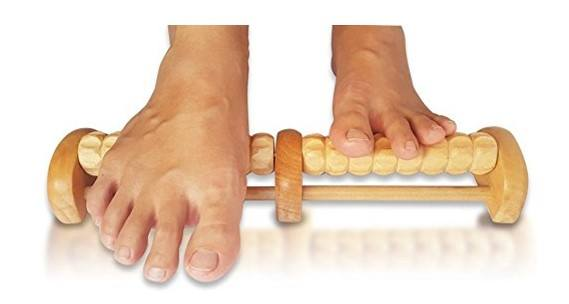 single foot massager roller