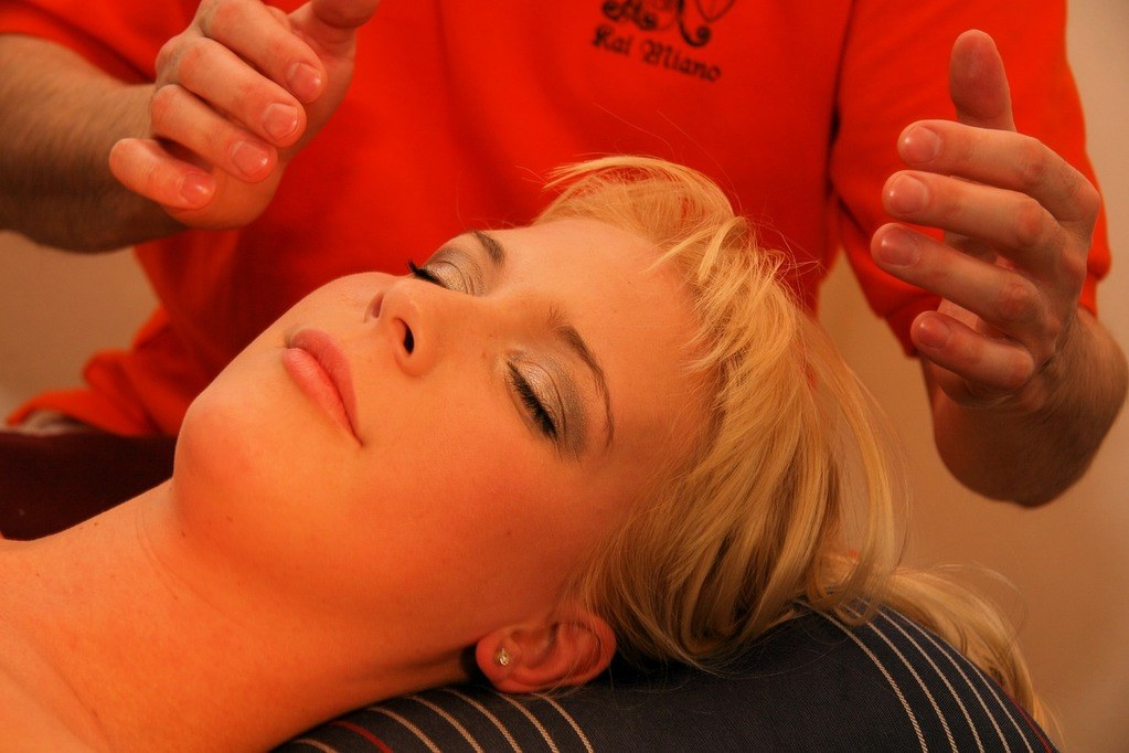 Shiatsu Head Massage healing